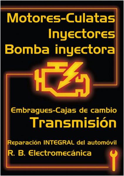 Motores, culatas, inyectores y bomba inyectora, embragues, transmisión, etc. Mecánica Integral del automovil
