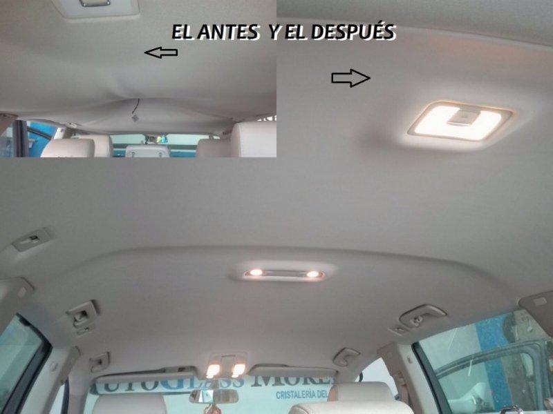 Tapizado de techo Audi Q7